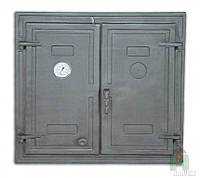 Дверки чугунные DW3 Т с термометром