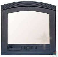 Дверки чугунные Arka со стеклом