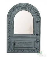 Дверки чугунные FPM1 со стеклом, фото 1