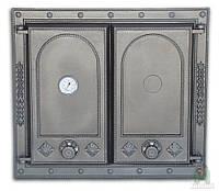 Дверки чугунные DW7Т с термометром
