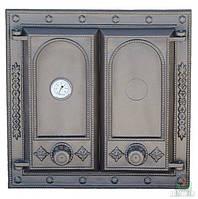 Дверки чугунные DW8Т с термометром