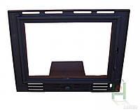 Дверки чугунные FPL 2 со стеклом