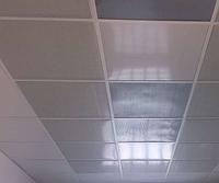 Подвесной перфорированный потолок металлический