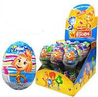 Шоколадное яйцо Фиксики The Fixies 25 гр.