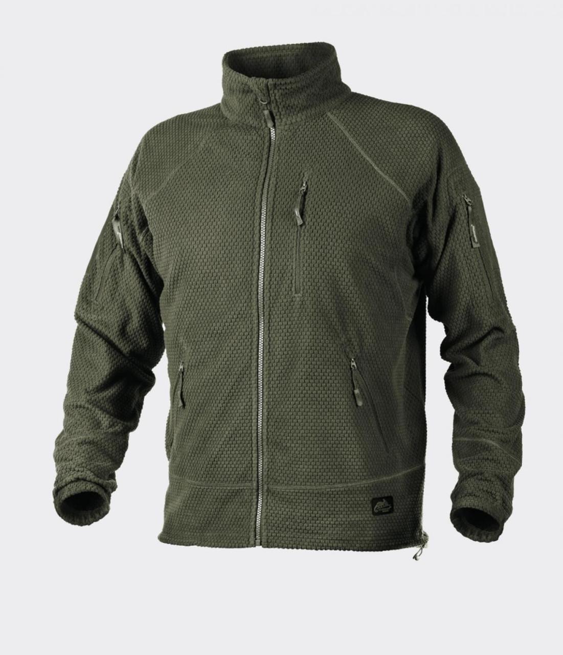 Куртка флисовая Helikon-Tex® Alpha TACTICAL - Олива
