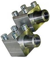 Фланцевые уголки гидравлические 3000 psi, 6000 psi.
