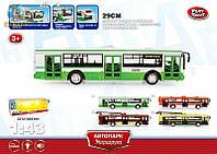 Троллейбус метал большой  модель