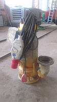 Аренда погружного шламового грязевого  насоса для илистых вод  Pumpex SР80 Производительность илососа 120 m3/h