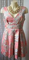 Платье нарядное красивое мини Pink Soda р.48 6578а