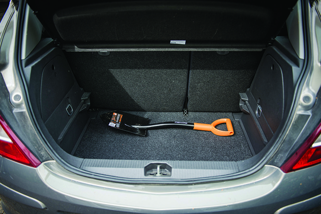 Лопата автомобильная Fiskars Solid (131417)
