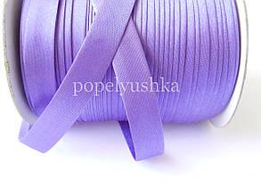Коса бейка 1,5 см  темно-фіолетова