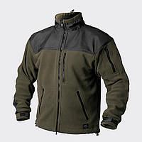 Куртка флисовая Helikon-Tex® Classic Army - Олива/Черная, фото 1