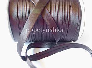 Коса бейка 1,5 см шоколадна