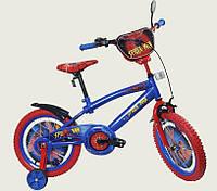 """Детский Велосипед """"Человек Паук"""" 2-х колесный 20 дюймовые колеса 142005, фото 1"""