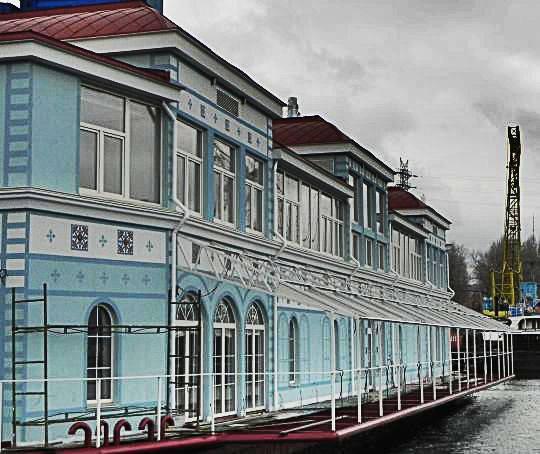 Ресторан на воде, г. Киев