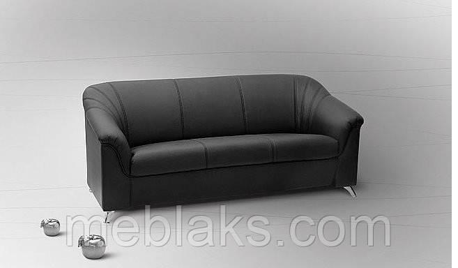 Мягкий диван в офис Анабель 3 (ширина 2,05 м)   Udin, фото 2