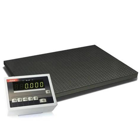 Весы платформенные Axis 4BDU600-1212 элит, фото 2
