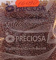 Бисер 10/0, цвет - молочный шоколад,№16090 (уп.50 грамм)