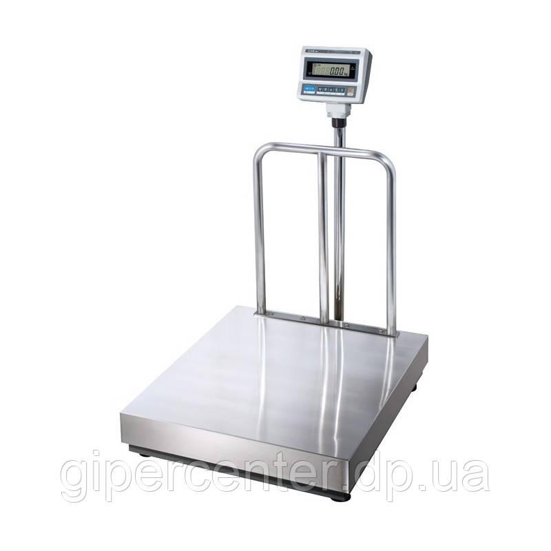 Весы товарные CAS DB II-300/600 до 600 кг (800х900 мм) со стойкой