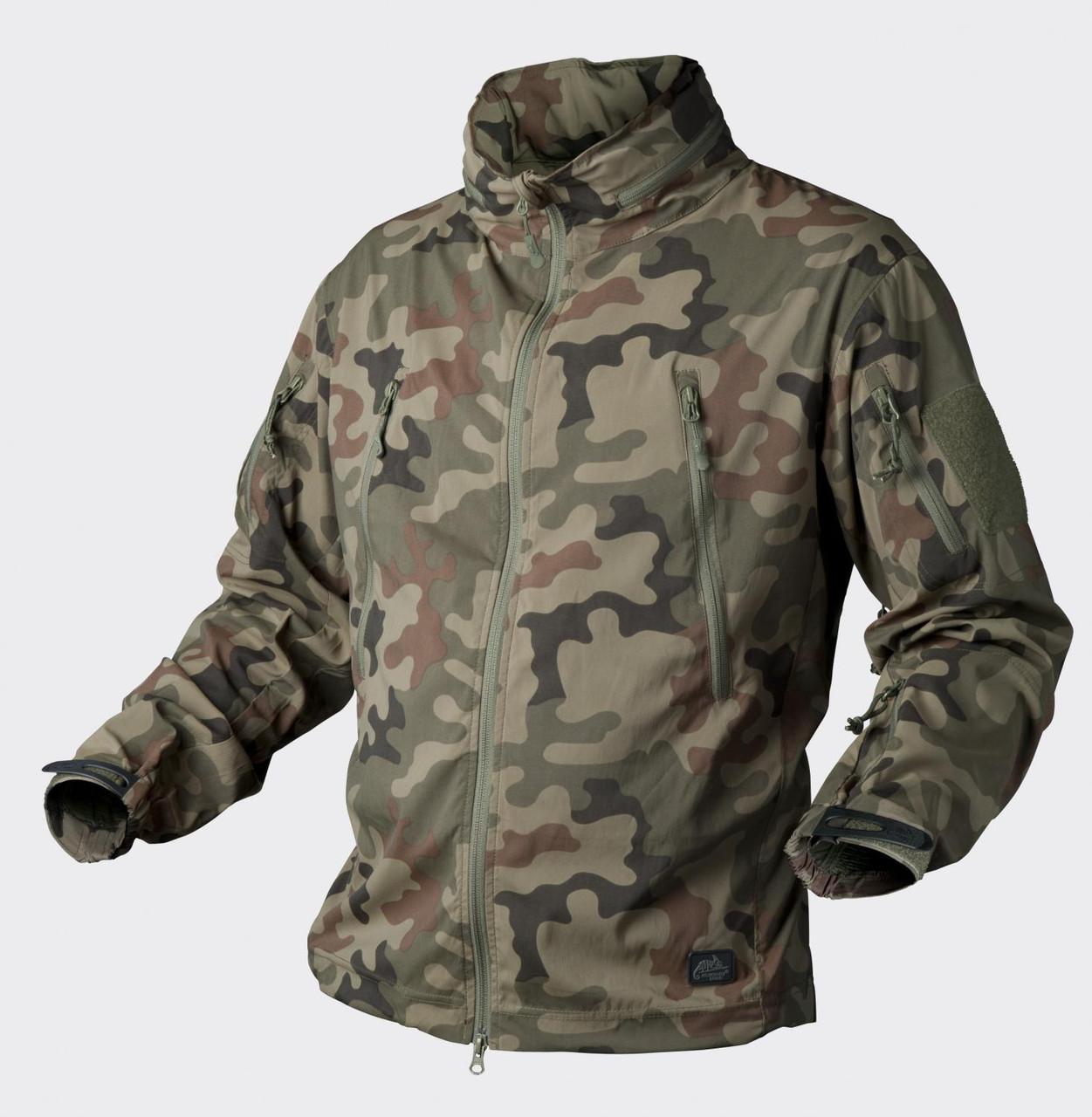 Куртка Soft Shell Helikon-Tex® Trooper - PL Woodland