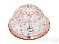 Хрустальный точечный светильникHL803 20W JC G4 220-240V/12V, 5 цветов