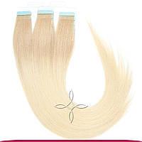 Натуральные славянские  волосы на лентах 45-50 см 100 грамм, Омбре №16-613