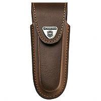 Чехол кожаный для ножей с рукоятью 111 мм. Victorinox коричневый 4.0538
