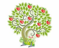 """Декорация """"Волшебная яблоня"""""""