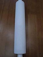 Скалка текстурная 25 см*5 см рифленая РОМБИК