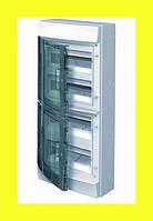Распределительный щиток навесной ABB Mistral IP65 48M 430x600x155 клеммные блоки PE+N 4 ряда