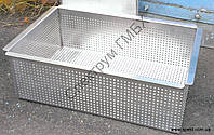 Ящик из нержавеющей стали (перфорированный ящик для приготовления творога), фото 1