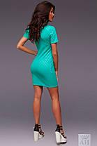 А1243 Платье спереди с молнией в расцветках, фото 3