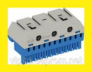 Замок с 2-мя ключами голубой для распределительных настенных щитков ABB Mistral 41