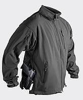 Куртка Soft Shell Helikon-Tex® Jackal - Черная, фото 1