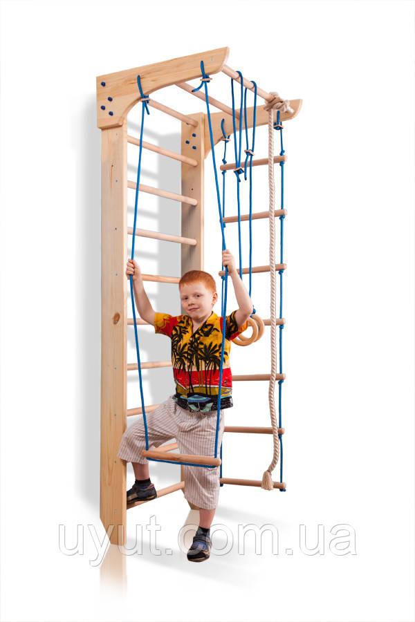Детский спортивный уголок «Kinder 2-220» (сосна)