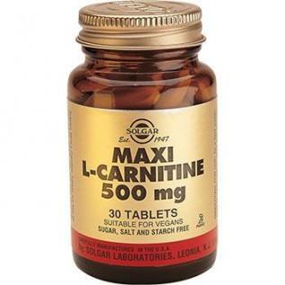 L-Карнитин ( L-Carnitine) - повысить работоспособность, физическую выносливость (30табл.,Солгар,США)
