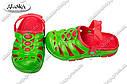 Детские сабо красно-зеленые (Код: Дет сабо), фото 2