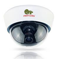 Купольная камера Partizan CDM-VF32HQ-7 HD v3.1  White