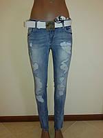 Женские рваные джинсы Liuzin 3582m , фото 1