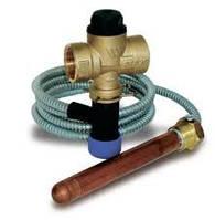 Термоклапан для защиты твердотопливных котлов от перегрева