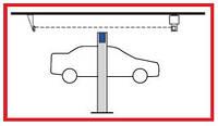 Концевой выключатель для двухстоечных электромеханических подъемников WERTHER (Италия)