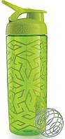 Шейкер спортивный зеленый BLENDERBOTTLE SIGNATURE SLEEK 820ML