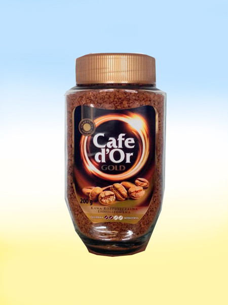 Растворимый кофе Cafe d`Or Gold 200 гр, cafe dor, cafe dor gold, кофе растворимый, лучший растворимый кофе, растворимый кофе,  растворимый кофе какой