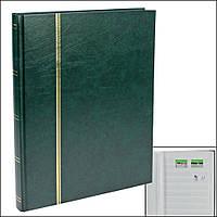 Альбом для марок SAFE - 48 страниц - зеленая обложка
