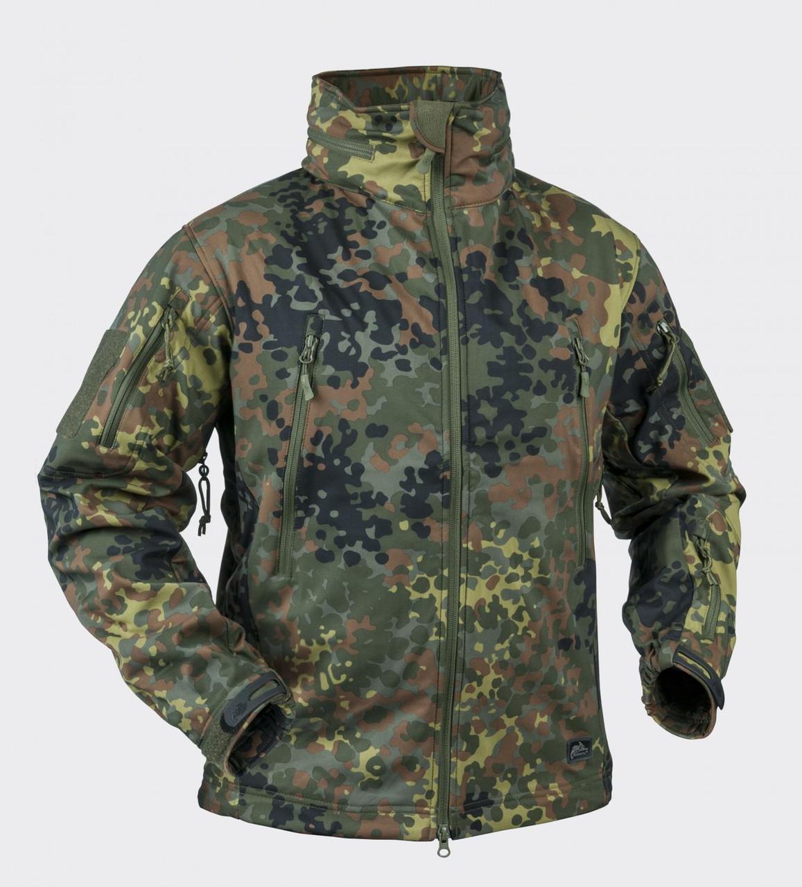 Куртка Windblockers Helikon-Tex® Gunfighter - Flecktarn