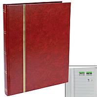 Альбом для марок SAFE - 48 страниц - красная обложка