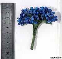 Тычинки на проволоке синие