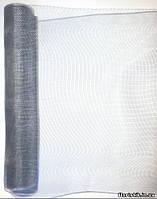 Сетка SK-Mesh, серая (металлик), на отрез в пог. м.