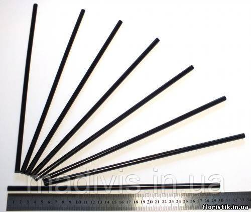 Стержень клеевой для термопистолетов 7 мм. черный