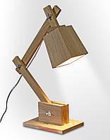 """Деревянная лампа """"Comfy Home"""" Pixi (натуральное дерево)"""
